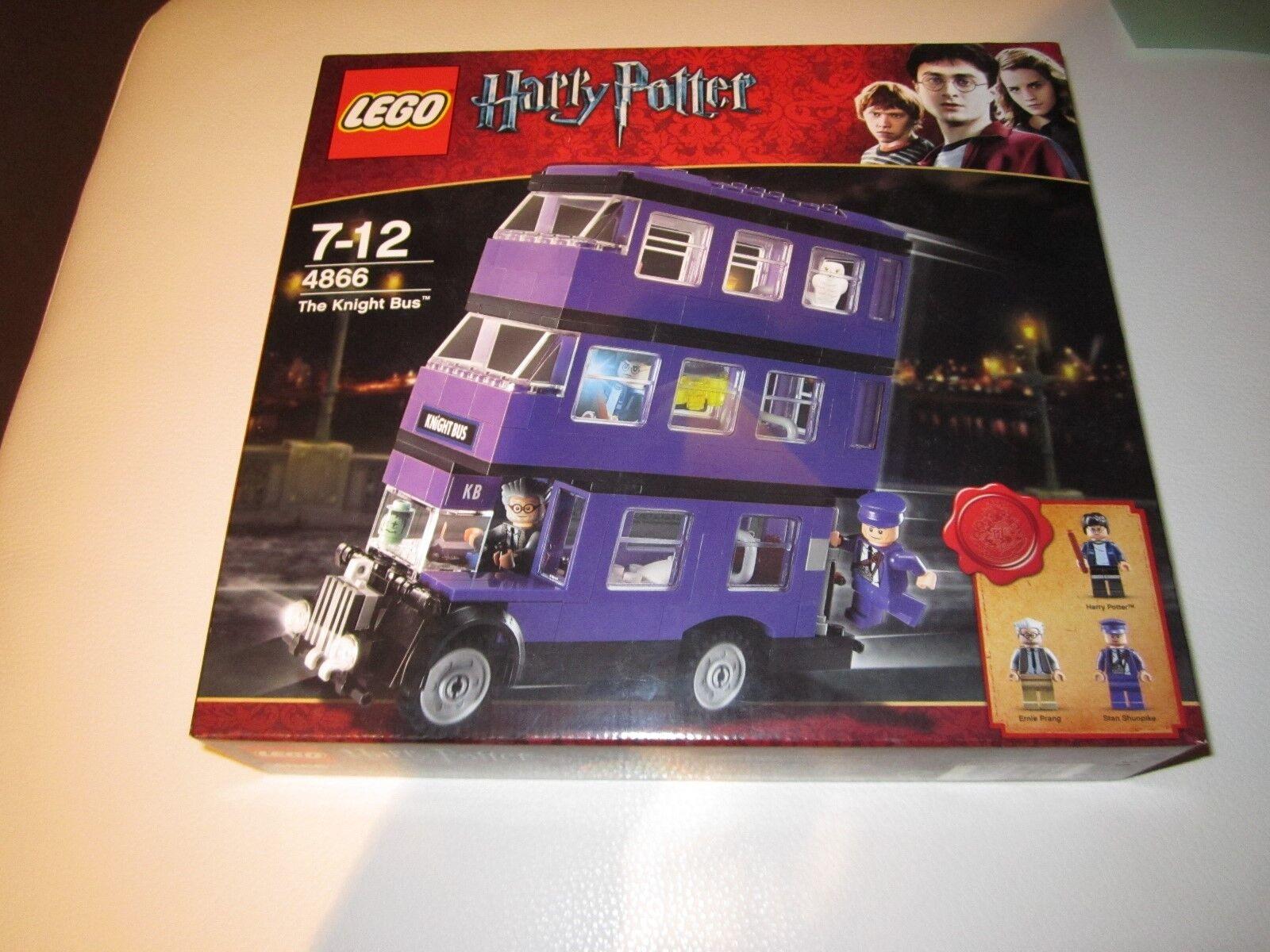 Lego Harry Potter Caballero Bus 4866-leve Arrugas En Caja-Nuevo en Caja Sellado