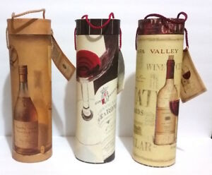 Image Is Loading Set Of 3 Decorative Wine Storage Boxes Tri