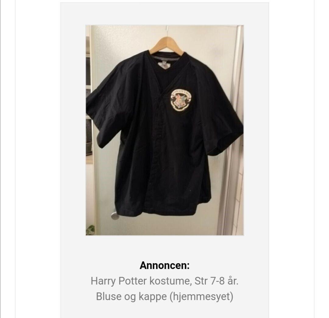 Harry potter kappe
