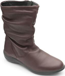 Padders-REGAN-Ladies-Womens-Leather-Regular-Dual-Fit-D-E-Calf-Boots-Raisin