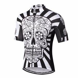 Image is loading Mens-Cycling-Jersey-Clothing-MTB-Bicycle-Sportswear-Short- c385ddaa2