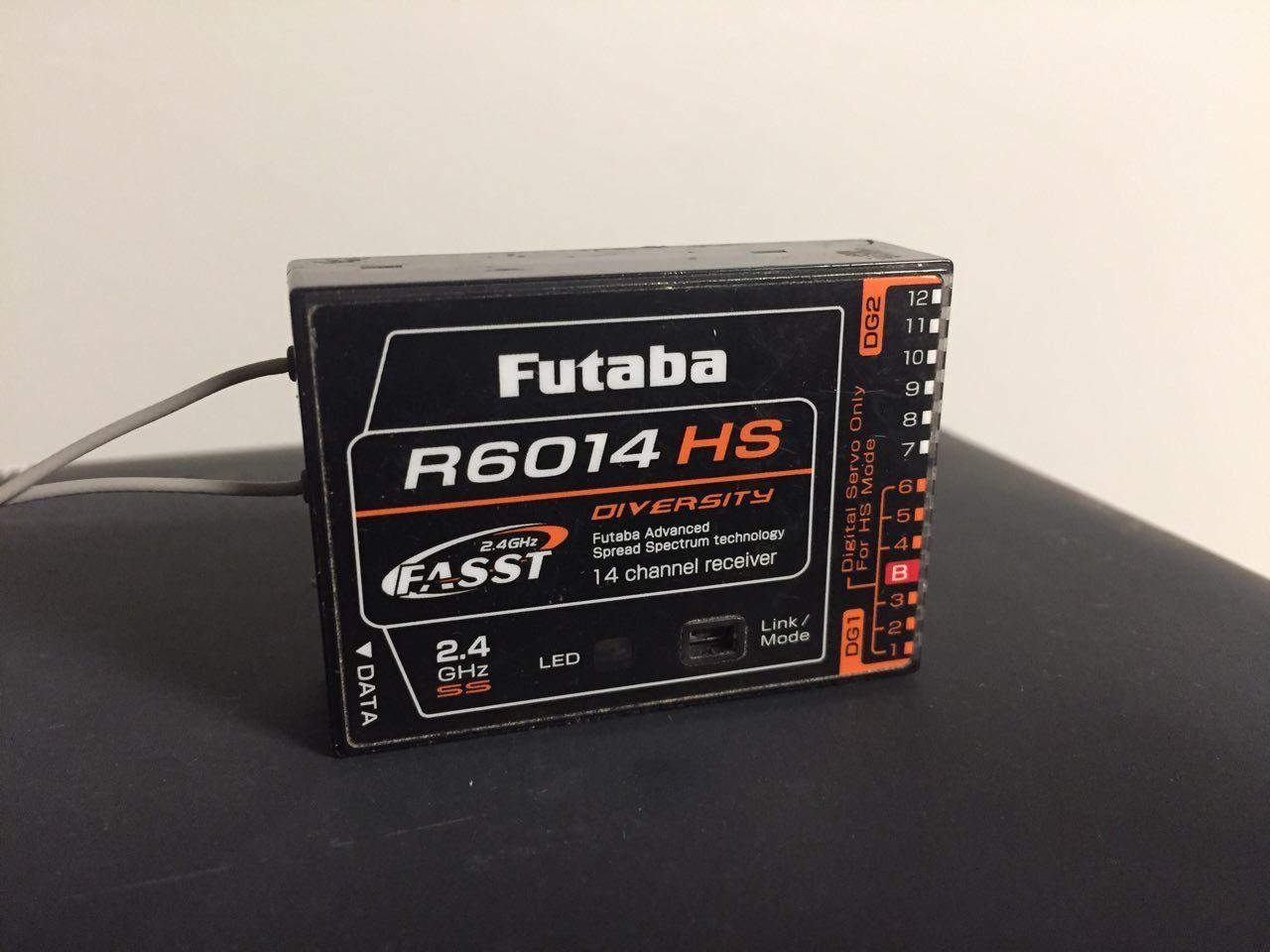 Futaba R6014 HS - Radio controller receiver, fpv, rc, FASST 2.4 Ghz