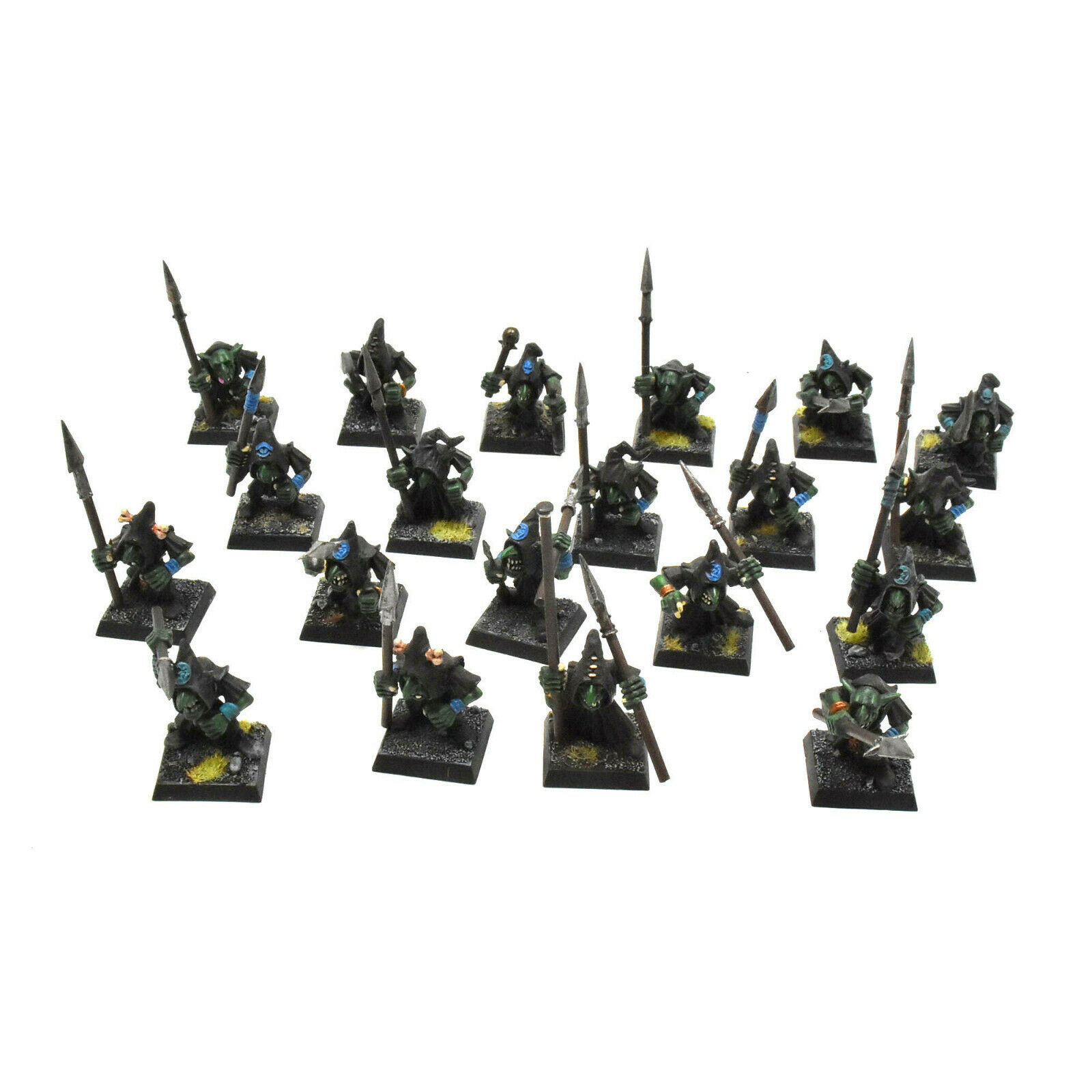 ORCS & GOBLINS 20 night grots with bows  3 Fantasy PRO PAINTED gloomspite gitz