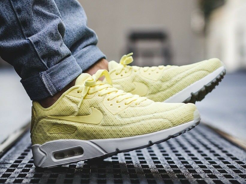 Nike Air Max 90 Ultra Breathe 'Lemon ffon'10 EUR 45 RARE LAST ONE