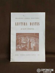 Libro-Lectura-Dantis-inferno-Alighieri-Divina-Commedia-Correa-D-039-Oliveira-1960