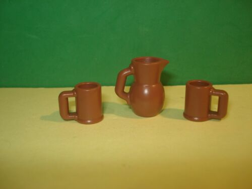 Playmobil Jug with Cups of Mud ¡Condition New