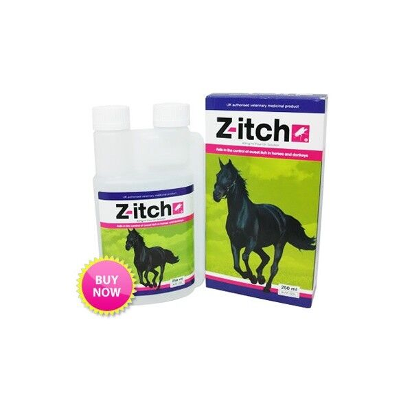 Z-itch Pour-On Horse Sweet Itch Itch Itch Solution 250ml 62365e