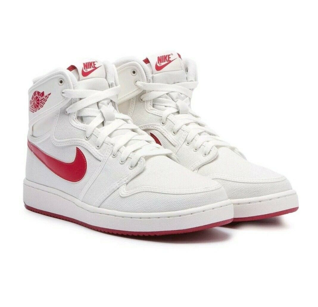 Nike air jordan ajko og 1 high Timeless Canvas Varsity Red 9.5 Men 638471 102