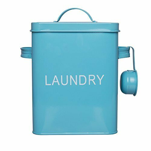 Laundry Detergent Storage Washing Soda Box, Laundry Room Decor, 9 Inch High