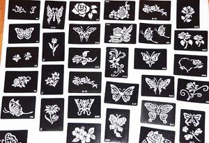 5 Henna Tattoo Stencils Mehndi Henna Diy Template Tattoo