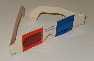 LUNETTES TV 3D VIDEO pour Emissions TV en relief de 1982