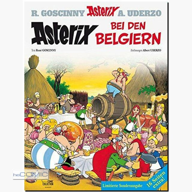 Asterix 24 bei den Belgiern FUNNY Sonderband + 16 Seiten zusätzl. NEU KLASSIKER