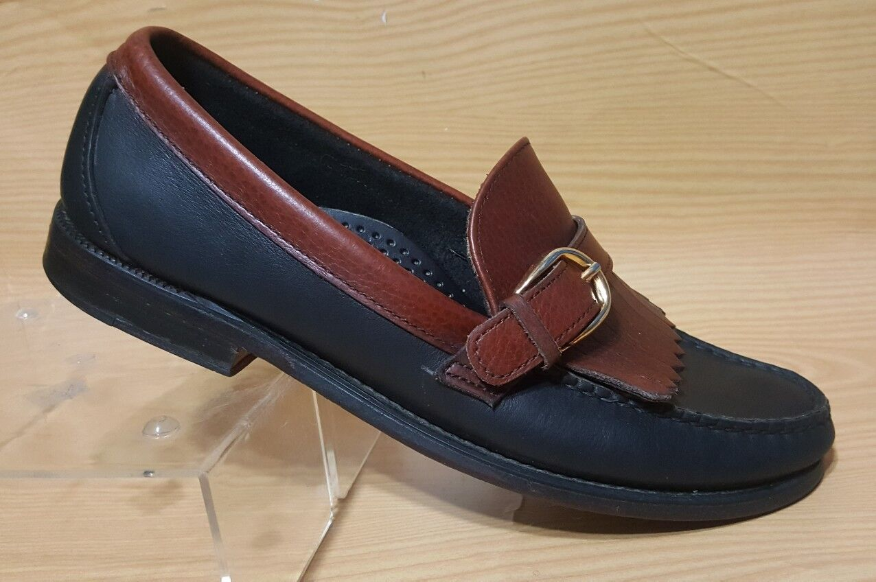 Sebago Made in USA Buckle Loafers Tassel Mens Leather shoes 9.5