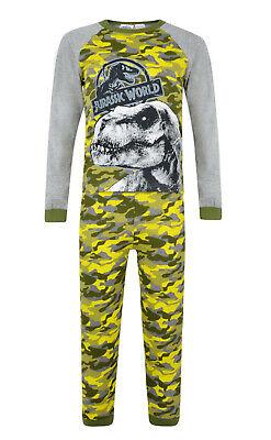 Jurassic World Boys Dinosaur Vests 2 Pack Underwear 3-4 to 7-8 Years