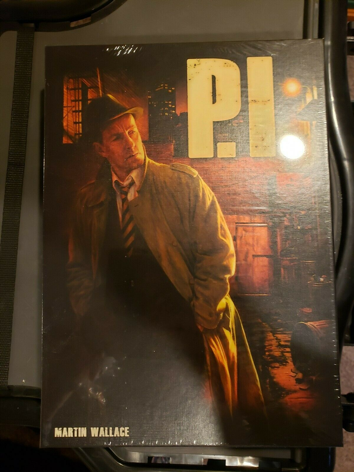 P.I. Martin Wallace board Game New  Free Shipping