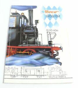 éNergique Catalogue Roco 0 H0 H0e De 1988/89-afficher Le Titre D'origine