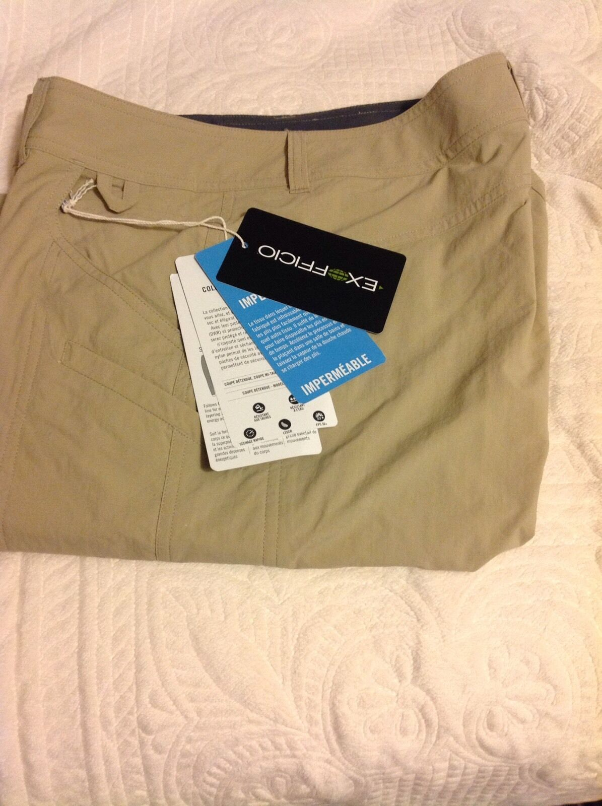 NWT Exofficio Women's Nomad Hiking Pants Size 8- Congreens To Capri