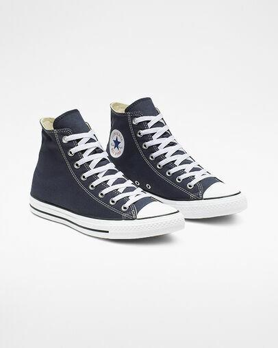 Star Hi Basketball Shoe Navy