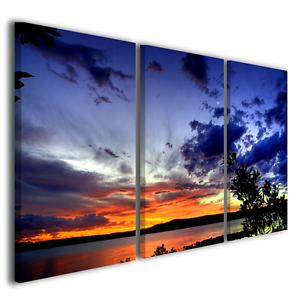 Quadri E Tele Moderne.Quadri Moderni Con Paesaggi E Tramonti Cuny Sunset Tele Moderne