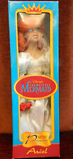 "DISNEY PRINCESS LITTLE MERMAID ARIEL PRINCESS PORCELAIN BRIDE DOLL 15"" NRFB"