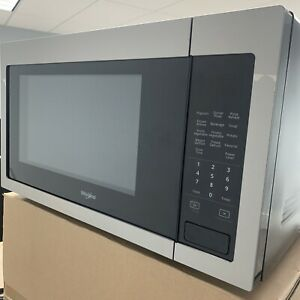 Whirlpool 1.6 cu. ft. Countertop Microwave 1,200-Watt Cooking Power WMC30516HZ