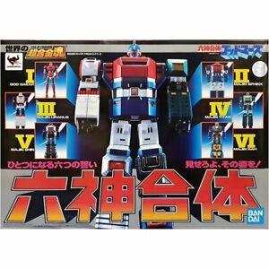 Bandai-Soul-of-Chogokin-GX-40R-Six-God-Combination-Godmars-Japanese-Ver-GG