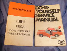 1974 Vega Do It Your Self Service Manual Vintage + 1970 Guide  = 2 books / A4
