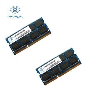 NANYA-OEM-8GB-Kit-2-x-4GB-PC3-10600S-1-5V-SO-DIMM-DDR3-Laptop-Memory