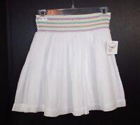 Junior Girls Rubbish White Smock Skirt Size S