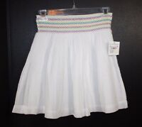 Junior Girls Rubbish White Smock Skirt Size S
