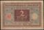 GERMANY-BANK-NOTE-1920-2-MK-BROWN-amp-GREEN-FOLDED-NO-TEAR-NO-HOLE-10CMX6-6CM thumbnail 1