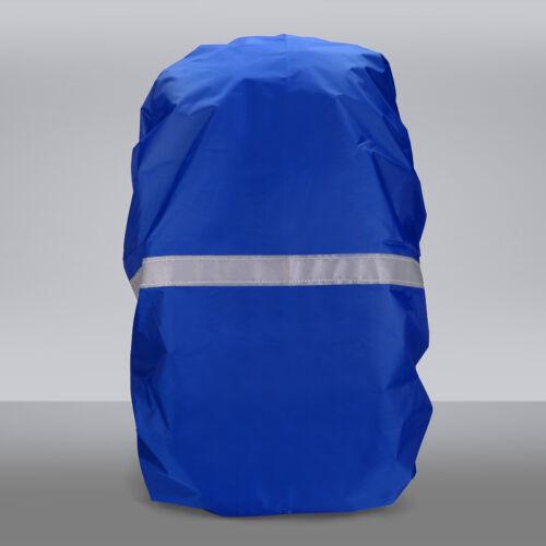 Reflective Waterproof Dust Rain Cover Travel Hiking Backpack Camping Rucksack US