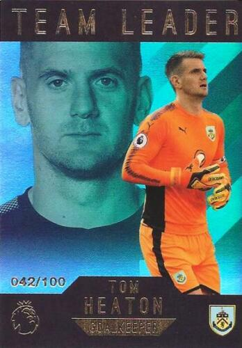 2017-18 Topps Premier League Gold /'Team Leaders/' Green Parallel //100 You Pick