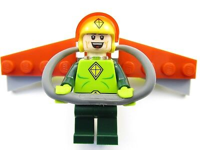 Lego DC Batman Movie 70903 The Riddler Riddle Racer KITE MAN complete minifigure