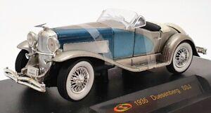 Coche-modelo-escala-firma-1-32-25095-1935-Duesenberg-SSJ-Plata