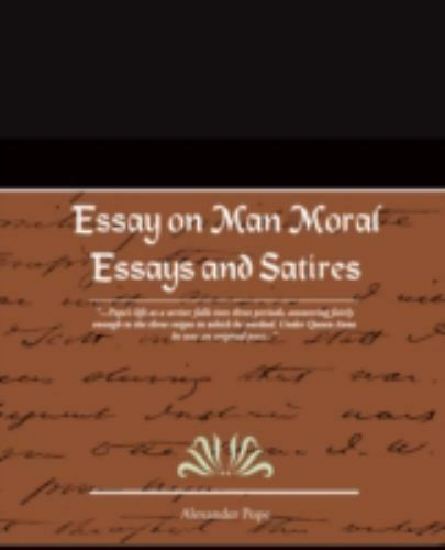 essay of the morals in back The theory of natural law was put forward by aristotle but championed by aquinas (1225-74)â â it is a deductive theory - it starts with basic principles, and from these the right course of action in a particular situation can be deducedâ â it is deontological, looking at the intent.
