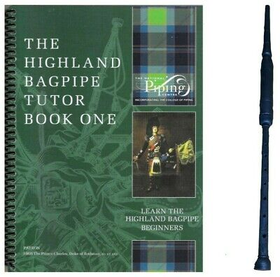 Practice Chanter Learn Great Highland Bagpipe Tutor Book Reed