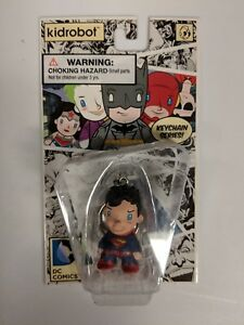 Kidrobot DC Comics Superman Keychain