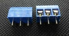 10PCS x 3 Position KF301-3P Through Hole PCB Mount Terminal Blocks 5.08mm #Q351