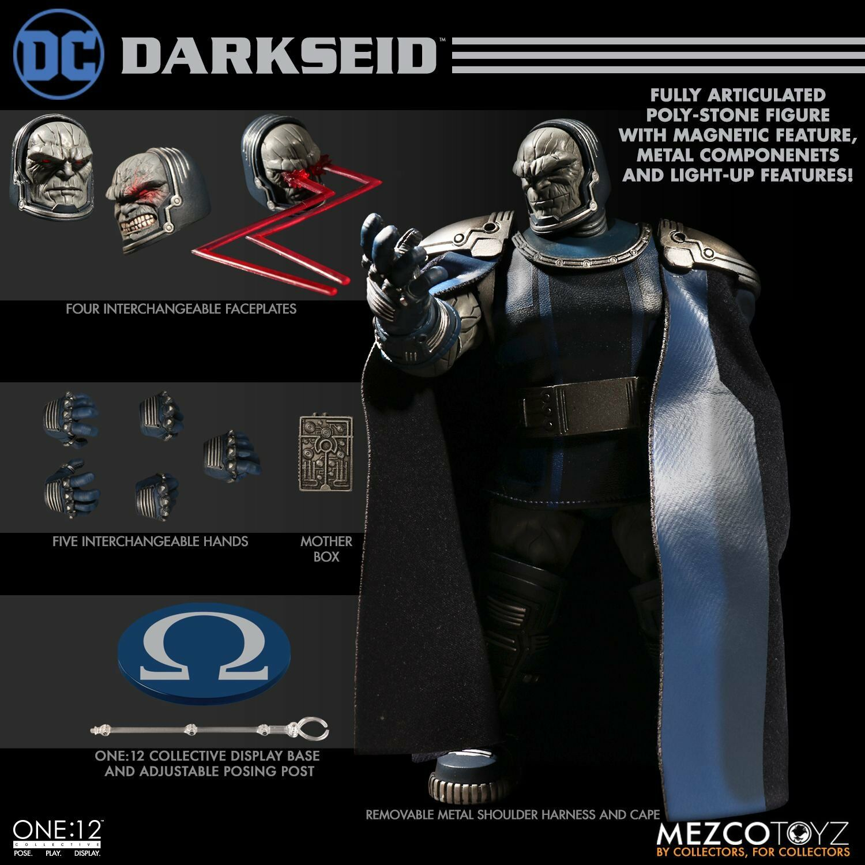 One 12 Collective   DARKSEID azione cifra  Mezco  DC Comics nuovo Gods  liquidazione fino al 70%