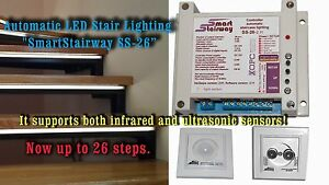 Image Is Loading Automatic LED Stair Lighting 034 SmartStairway SS 26