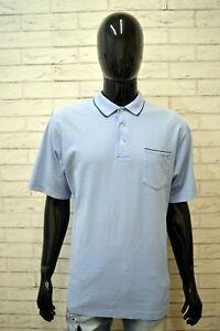 Polo-RALPH-LAUREN-Maglia-L-Uomo-Shirt-Herrenhemd-Maglietta-Manica-Corta-Celeste