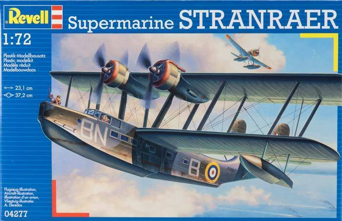 2012 Revell 1 72 Scale Supermarine STRANRAER 4277 model kit new