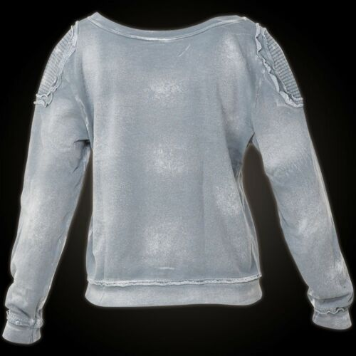 Damen Grau Sweats Pullover Affliction Arapaho 8fAYRqq