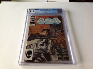PUNISHER LIMITED SERIES 2 CGC 9.6 WHITE PAGES GRANT MIKE ZECK MARVEL COMICS