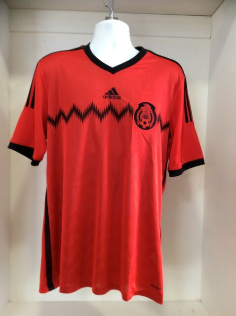 8fcc33308fb adidas Men s Mexico 2014 Away Jersey Red black G74508 S for sale ...