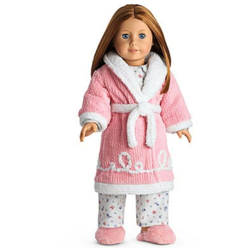 American Girl Emily's Robe and Slippers NIB NRFB Doll Not Included