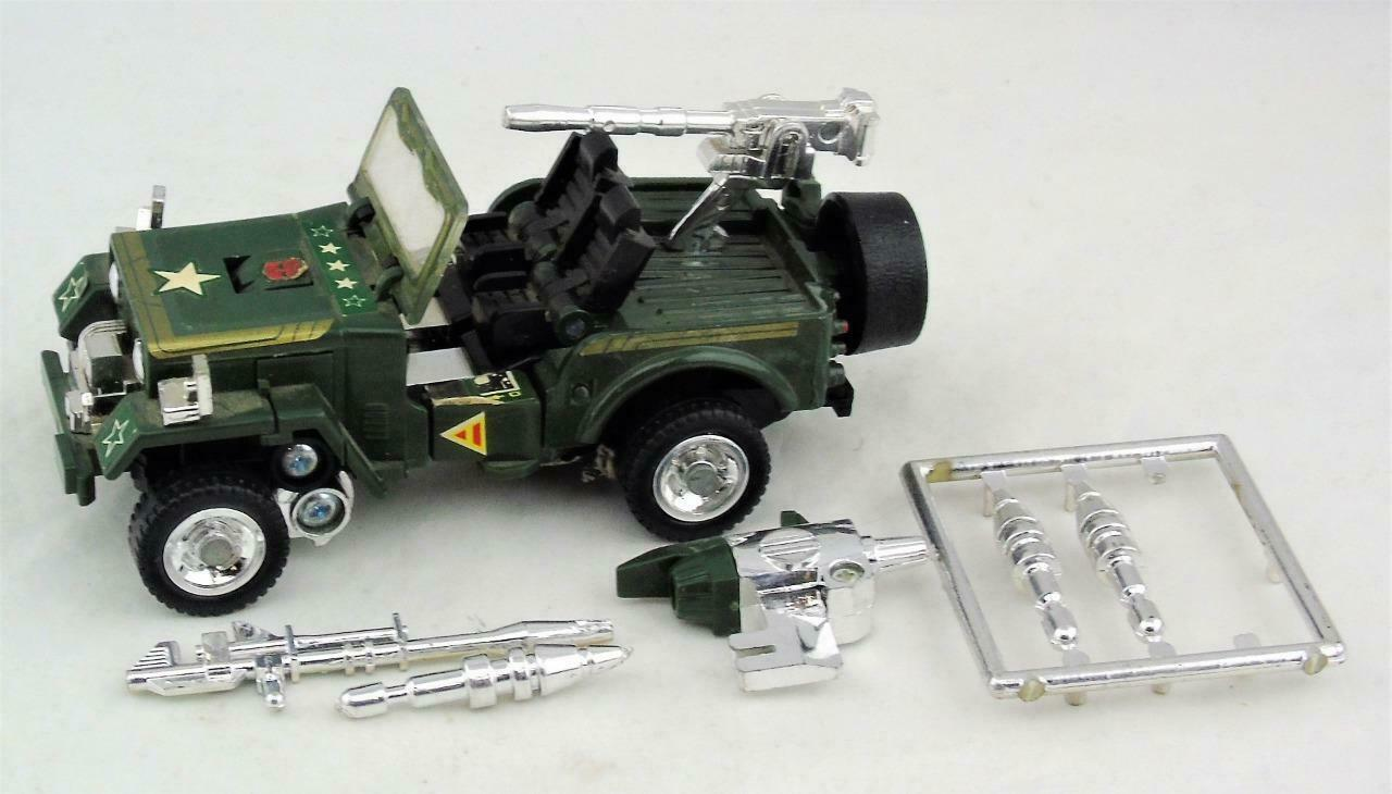 Transformers Original G1 1984 Autobot Car Pre Rub Hound Circle Stamp Complete