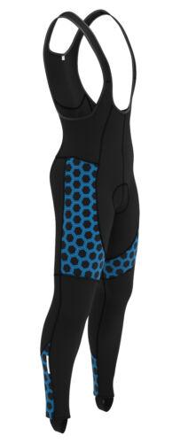 New Men/'s Cycling Bib Tights Thermal Padded  Legging Winter Bike Long Pant