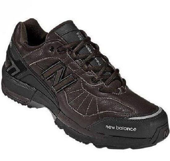 MW888BR Revlite 4E Ancho New Balance Gamuza Hombres Zapatos para Caminar Marrón Varios Tamaños